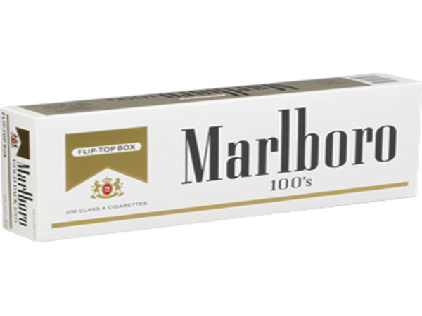 Marlboro Gold 100s Cigarettes For Sale 10 Cartons