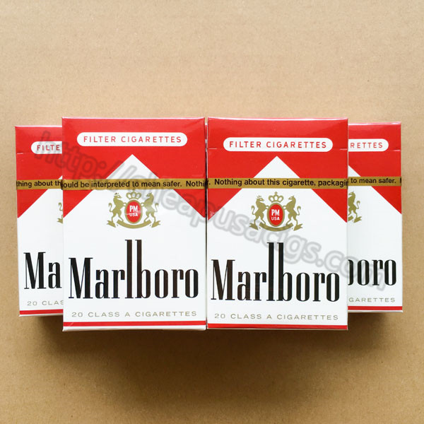 Marlboro Red Regular Cigarettes with New York Stamp 20 Cartons