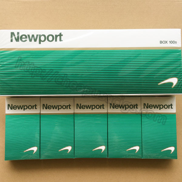 Newport 100s Cigarettes Menthol Outlet 100 Cartons